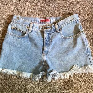Vintage AEO cotton mom shorts
